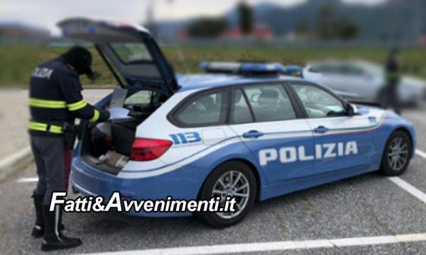 Caltanissetta. Ubriaco in contromano sulla S.S. 640 inseguito per 15Km poi fermato: auto sequestrata e patente ritirata