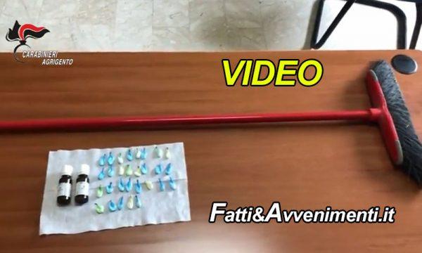 """Ravanusa (AG). I carabinieri trovano una scopa """"magica"""": arrestato il proprietario che """"vola"""" in galera"""