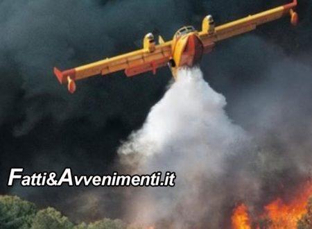 Palermo. Brucia tutta la provincia, i roghi sono dolosi: in azione i canadair e residenti evacuati