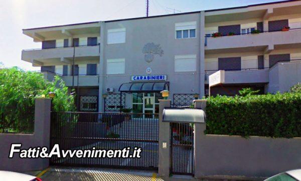 Campobello di Licata. Maresciallo dei carabinieri 29enne si  suicida con un colpo di pistola