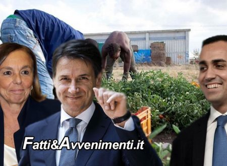 Schiaffi di Conte e Lamorgese al M5S che si piega e dice SI a regolarizzare 600mila migranti, ma Bonafede è salvo
