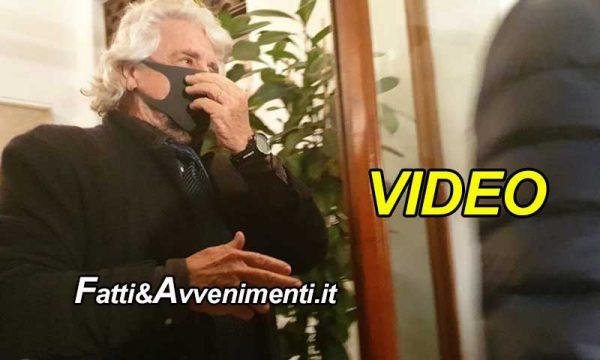 Covid-19. Beppe Grillo il 17 dic. 2019 era già con la mascherina e Gasparri chiede chiarimenti in Senato