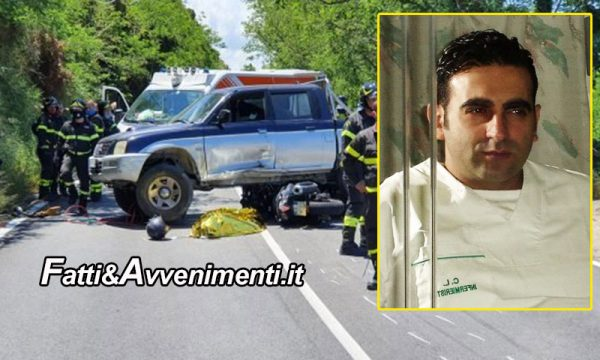 Messina. Tragico incidente mortale: scooter finisce sotto un suv, perde la vita un infermiere di 44 anni