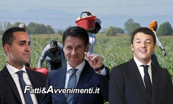 """Accordo tra Conte e Renzi: """"I 5Stelle si piegano per salvare Bonafede, SI a Sanatoria per 300mila irregolari"""""""