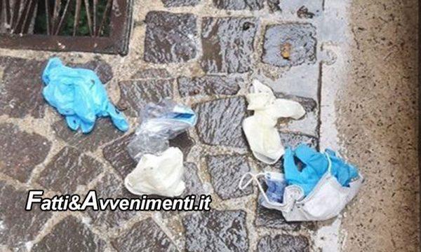 Legge & Diritto. Abbandonare mascherine e guanti oltre che incivile è anche sanzionato: multe fino a 3000 euro
