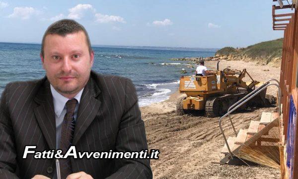 """Sciacca. Comune chiede autorizzazione a pulire spiagge, Caracappa: """"Istituire aree protezione civile e ammassamento"""""""