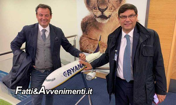 Aeroporto di Trapani. Dal 21 giugno torna anche Ryanair e dal 1° luglio al 28 ottobre parcheggio a 3,5 euro al giorno