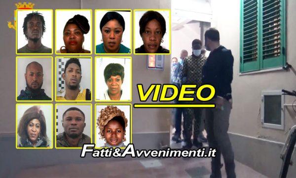 """Catania. Tratta di nigeriane arrivate con la nave Ong """"Aquarius"""": dieci arresti, prostituzione e riti voodoo"""