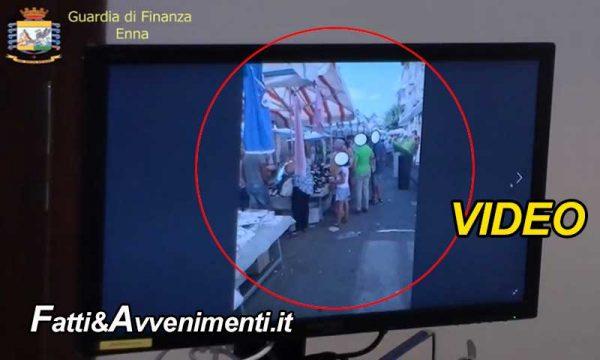 Piazza Armerina (EN). Scoperti 18 dipendenti comunali che timbravano e poi andavano a fare shopping – VIDEO