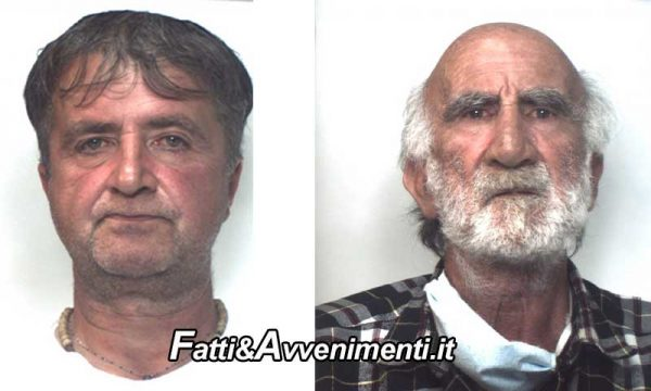 Floresta (Me). Due Fratelli rapinano un 93enne e minacciano di bruciarlo vivo: arrestati grazie ad un video