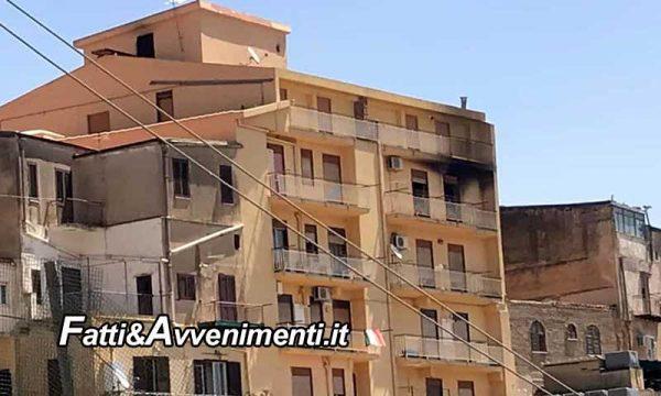 Agrigento. A fuoco nella notte un appartamento: una donna muore carbonizzata