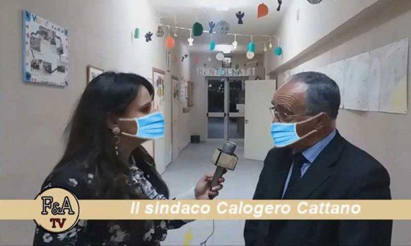 """Caltabellotta. Sindaco Cattano: la SP Sciacca-Caltabellotta-San Carlo, sarà  riaperta a novembre"""" – video"""
