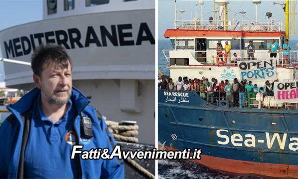 Dopo Sea Watch anche Mare Jonio di Casarini, dissequestrata, torna davanti la Libia a prendere migranti