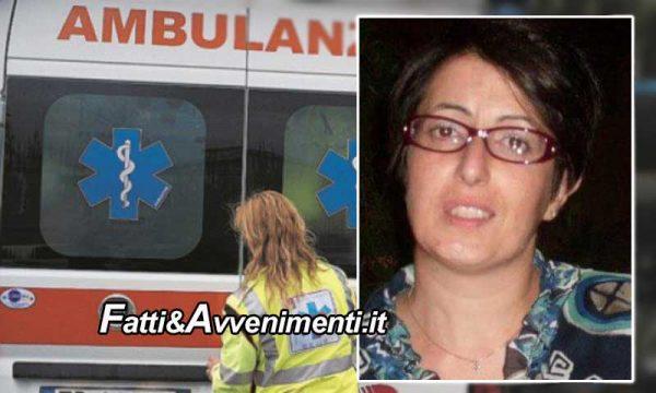 Piazza Armerina (EN). Muore medico 44enne:  travolta da un'auto mentre è in bici, inutili i soccorsi