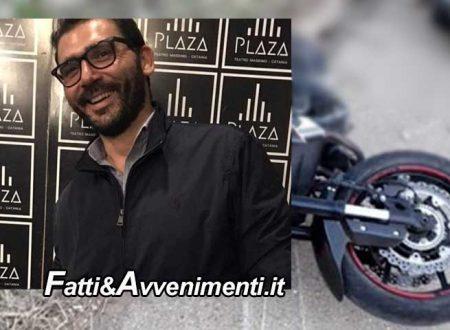 Catania. Si schianta con la moto sul guardrail: muore un motociclista di 39 anni