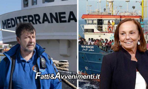 Mare Jonio autorizzata a sbarcare 67 migranti a Pozzallo e la Sea Watch con 211 attende l'Ok della Lamorgese