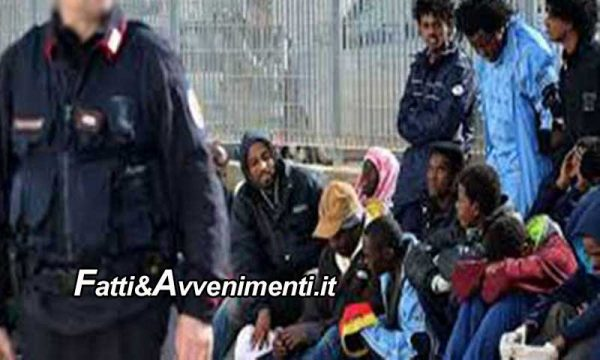 Agrigento. Migranti fuggono dalla quarantena e ripresi: poliziotto ne schiaffeggia uno, indagato