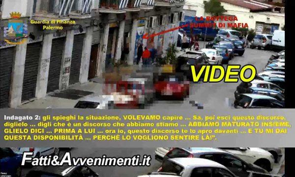 Palermo. Mafia e agenzie di scomesse: la G.d.F. arresta 8 persone – VIDEO