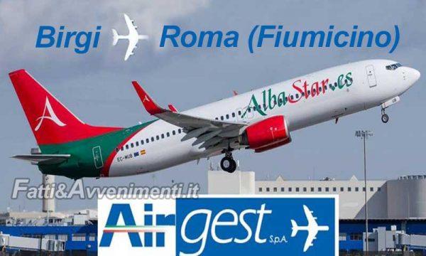Aeroporto Trapani. Via Alitalia arriva Albastar: nuovo volo giornaliero per Roma low cost. Da agosto anche Lourdes