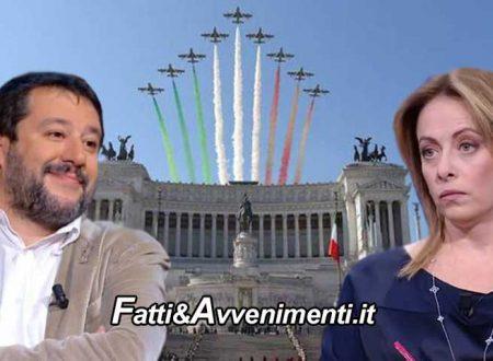 Dal Centrodestra ai Gilet arancioni fino ai Comunisti, domani 2 Giugno tutti a Roma contro il governo Conte