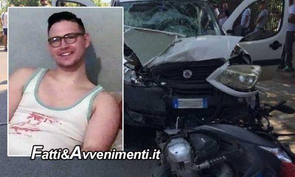 Pachino (SR). 20Enne travolto da un'auto vola per oltre 10 metri e muore: inutile l'arrivo dell'elisoccorso
