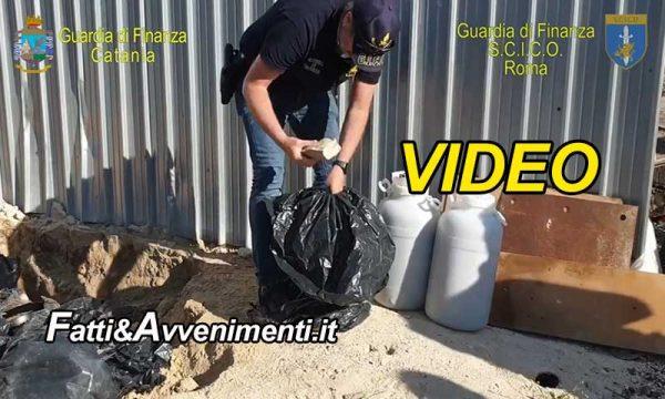 Rifiuti e tangenti, Operazione 'Mazzetta Sicula': 9 arresti e  soldi delle mazzette sotterrati in fusti tra i rifiuti