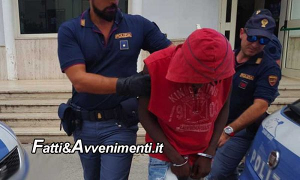 Sciacca. Immigrato sequestra la compagna incinta e due bambini: irrompe la polizia che arresta l'uomo