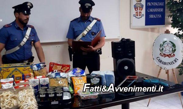 Carlentini (SR). In ferie in Sicilia riempe il carrello di spesa e tenta di fuggire: 58enne fermato ed arrestato