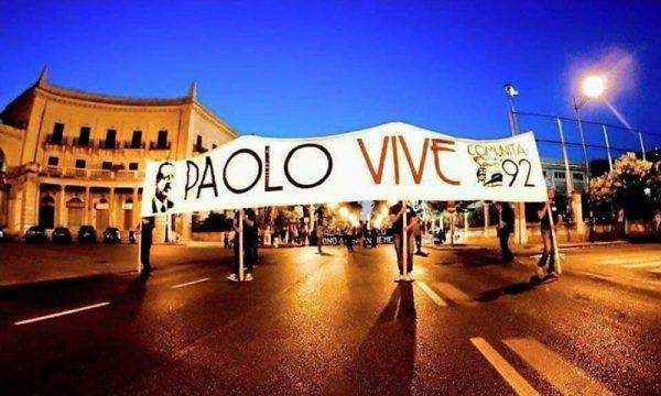 Palermo. Ricordando il 28° anno della strage del 19 luglio in via D'Amelio del Giudice Paolo Borsellino