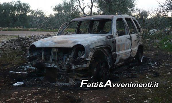 Pietraperzia (En). Cadavere bruciato dentro fuoristrada: riconosciuta la vittima, indagini su omicidio