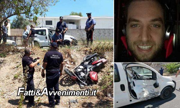 Incidente sulla Noto-Rosolini, scontro auto-moto: perde la vita un radiologo di 30 anni
