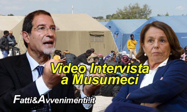 """Migranti. Musumeci: """"La Tunisia non è in guerra, Lamorgese incoraggia mercanti di carne umana. No a tendopoli"""""""