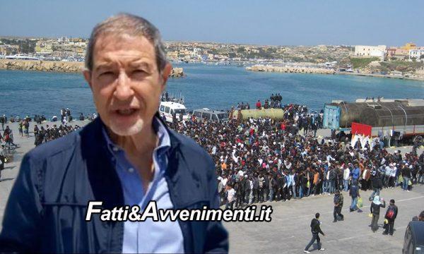 """Lampedusa """"conquistata"""" dai migranti: 791 arrivi in 48 ore e Musumeci chiede lo stato di emergenza"""