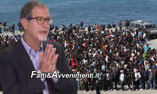 Lampedusa. Migranti 'a flotte senza tregua', altri 25 positivi. Per Musumeci è 'emergenza politica' senza precedenti