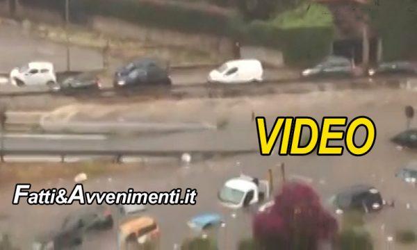 Palermo. Violento nubifragio e la città finisce sott'acqua: 2 persone morte annegate in via da Vinci