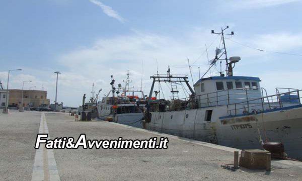 """I tunisini vogliono 9mila euro  per il rilascio del motopesca """"Nuova Maria Lucia"""" di Marsala e l'equipaggio"""