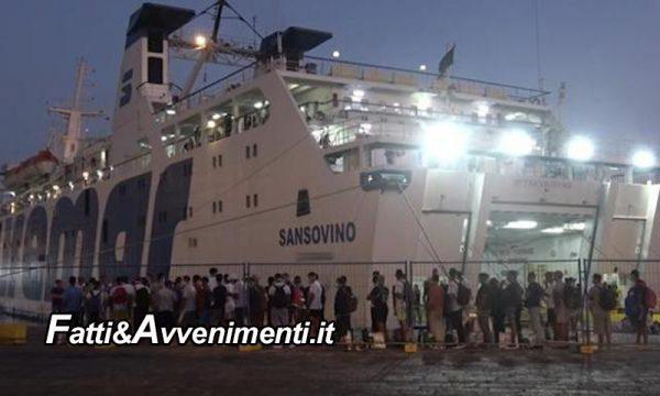 Porto Empedocle. Nave turisti non parte per Lampedusa per l'arrivo dei migranti: turismo in ginocchio tra le proteste