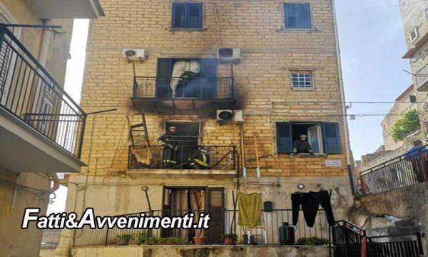 Riesi (Cl). Appartamento a fuoco: donna, due figli e un gatto salvati dal maresciallo dei Carabinieri