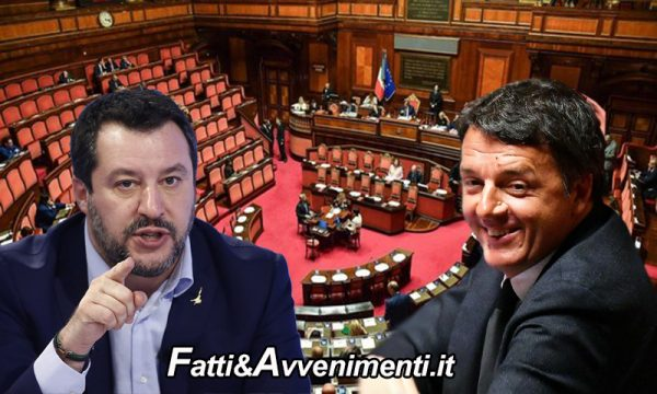 """Migranti. Open Arms, Renzi scioglie la riserva: """"Votiamo sì"""" e manda Salvini a processo"""