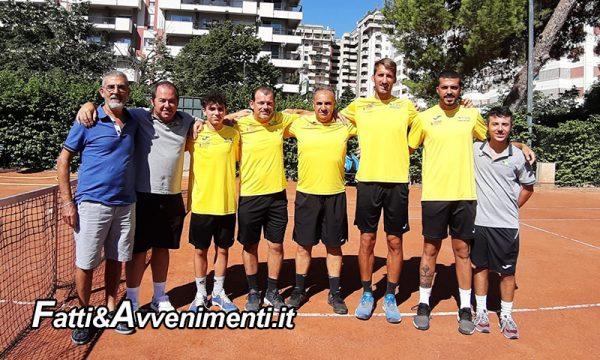 Il Tennis club Sciacca. Vince la sfida decisiva con il CT PALERMO e approda alle finali PLAY OFF