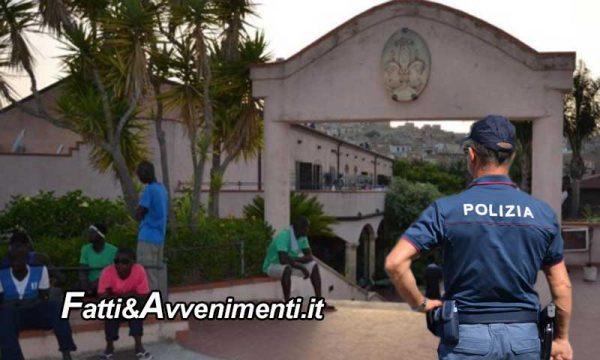 """Siculiana (AG). Tunisini fuggono da """"Villa Sikania"""", uno  aggredisce poliziotto procurandogli gravi fratture"""