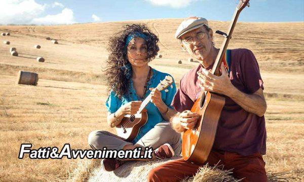 """Caltabellotta (AG). Cupola Geodetica, giovedì 13: """"Acoustic Live con Giana Guaiana e Pippo Barrile"""". Ingresso libero"""