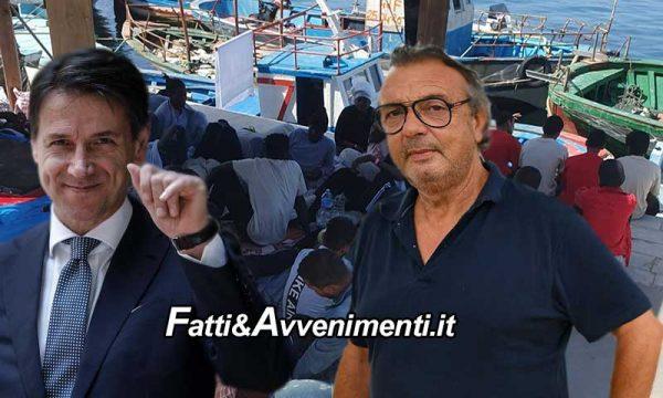 Lampedusa. Il sindaco si sente abbandonato da Conte e va a Tunisi per fermare gli sbarchi: 30 in 24 ore