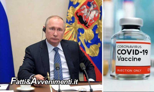 Covid-19. La Russia distribuisce già il primo lotto del suo vaccino, mentre in Italia i test sono stati bloccati