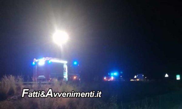 Incidente sulla Palermo Messina. Scontro auto moto: muore una donna sbalzata a diversi metri e due i feriti