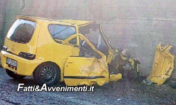 Messina. Tampona un'auto e poi si schianta contro un muro della Tangenziale: muore un 64enne