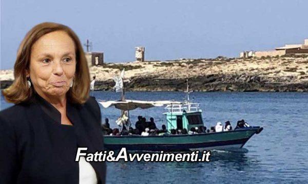 Lampedusa. Riprendono gli sbarchi, già 4 in 12 ore: contenta la Lamorgese che rimpatria 80 migranti a settimana