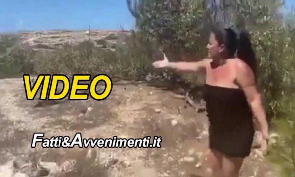"""Lampedusa. Orrore, cittadina denuncia: """"I migranti mi hanno mangiato 4 cani"""" – VIDEO- e gli sbarchi non si fermano"""