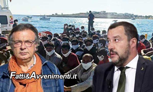 """Lampedusa. Sbarchi senza tregua, 6000 arrivi in pochi giorni, Martello: """"emergenza"""", ma Salvini non era un """"mentitore""""?"""