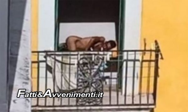 """Agrigento. Migranti nudi sul balcone e musica a tutto volume, Cittadini esausti: """"Servono controlli"""""""